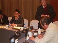 和志军主席主持2015年省信鸽协会小组会议