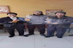 兄弟协会-柳河信鸽协会颁奖